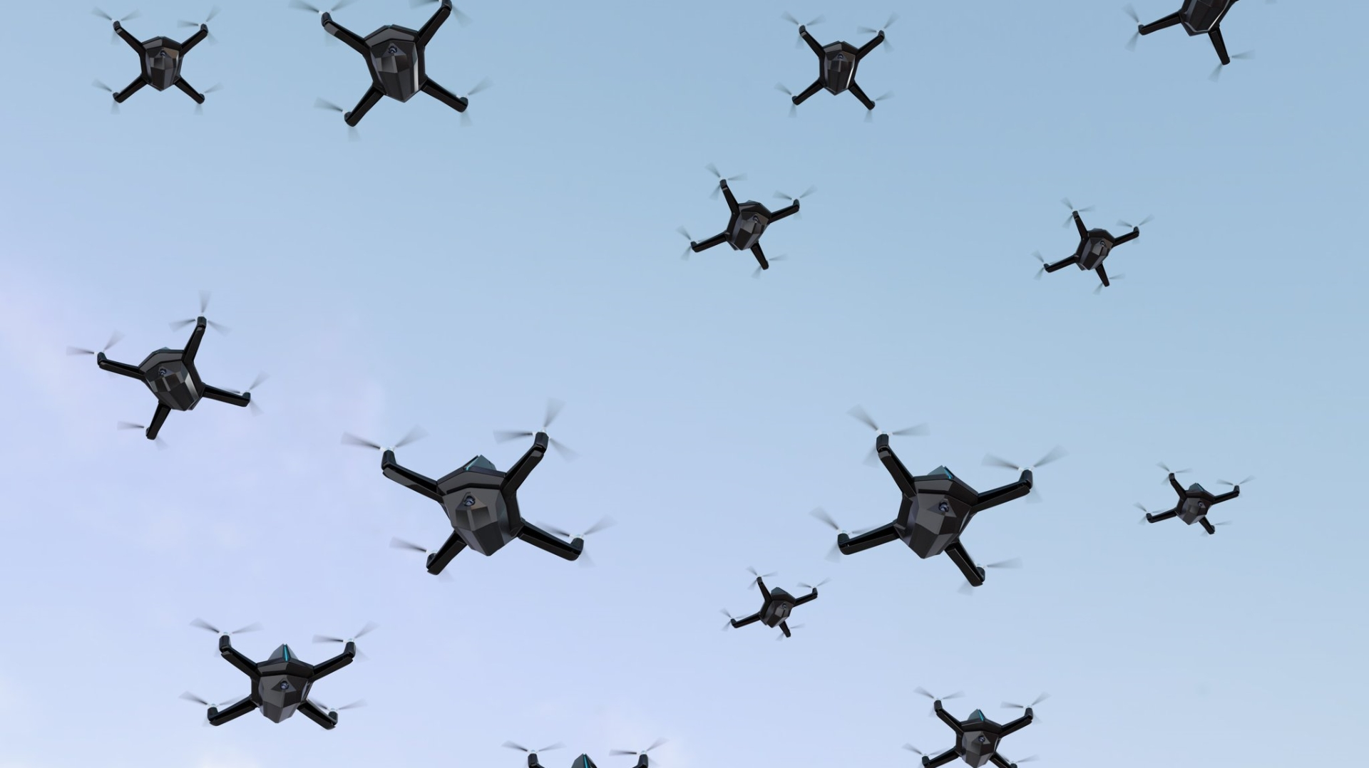 Multiple Drones Flying | The End of Killing
