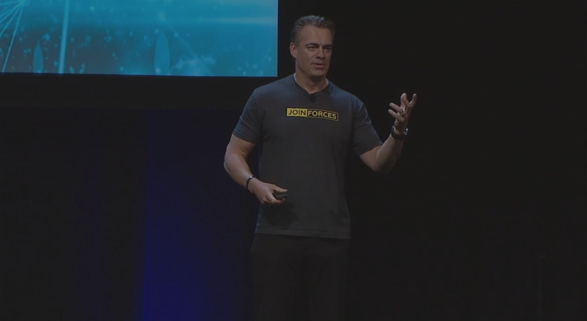 Rick Smith at a speaking engagement